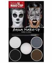 Make up set dieren zebra