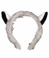 Maki aap hoofdbanden pluche met oortjes 15 cm