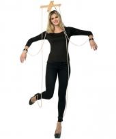 Marionettenpop touwtjes accessoire