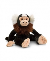 Marmoset aap knuffel zittend 30cm