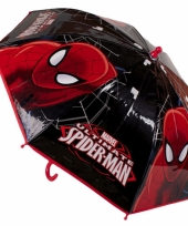 Marvel paraplu spiderman zwart