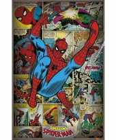 Marvel poster retro spiderman 61 x 91 5 cm