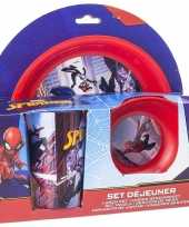 Marvel spiderman 3 delig kinderservies