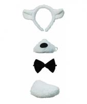Masker met geluid lammetjes set