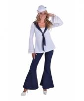 Matrozen broek en blouse voor dames