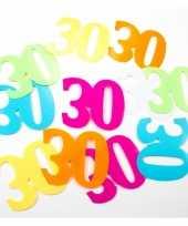 Mega confetti 30 jaar versiering 24 stuks