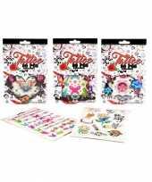 Mega set sticker tattoos type sierlijk 10095585