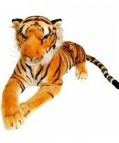 Mega tijger van pluche 100 cm