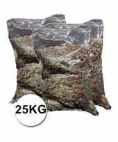 Mega zakken confetti ca 25 kilo totaal