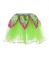 Meisjes ballet rokje groen roze