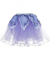 Meisjes ballet rokje lila paars