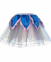 Meisjes ballet rokje regenboog