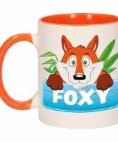 Melk mok beker foxy 300 ml