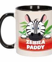 Melk mok beker zebra paddy 300 ml
