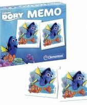 Memory spellen finding dory nemo