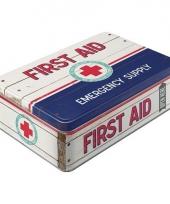 Metalen broodtrommel first aid