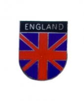 Metalen engelse vlag pin