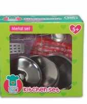 Metalen speelgoed keuken accessoires