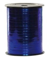 Metallic blauw lint op rol 250 m