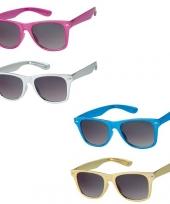 Metallic zonnebrillen