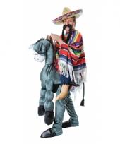 Mexicaan op een ezel kostuum