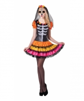 Mexicaans skelet jurkje rosita day of the dead