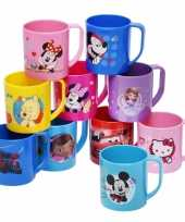 Mickey mouse beker blauw