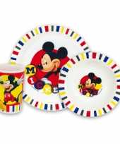 Mickey mouse lunch set voor kids