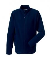 Microfleece vest navy voor heren