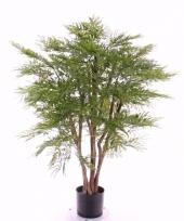 Mimosastruik kunstplant 110 cm in pot voor binnen buiten