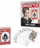 Mindfuck magie goocheldoos kaarten set victor mids voor kinderen