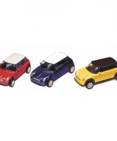 Miniatuur mini cooper 7 cm