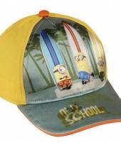 Minions baseball cap geel voor kids