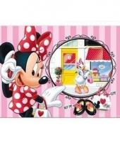 Minnie mouse 3d placemat strepen