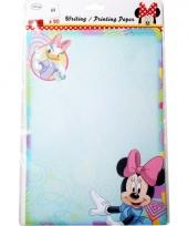 Minnie mouse a4 kinder schrijfpapier 20 vellen