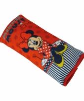 Minnie mouse autogordel hoes
