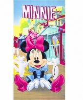 Minnie mouse badlaken 70 x 140 cm