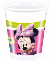 Minnie mouse bekertjes 8 stuks
