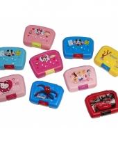 Minnie mouse broodtrommel roze 18 x 12 cm 10056613