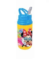 Minnie mouse drink fles goud