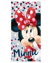 Minnie mouse handdoeken