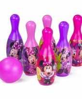 Minnie mouse kegelspel voor kinderen