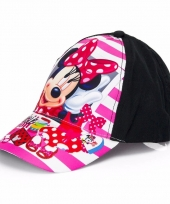 Minnie mouse kids petje zwart