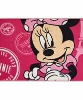 Minnie mouse kleed 120 x 80 cm