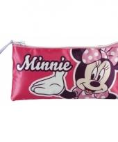 Minnie mouse pennen tasje 22 cm