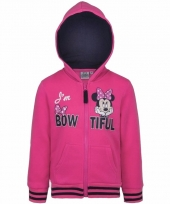 Minnie mouse sweatshirt voor meisjes roze