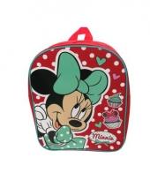 Minnie mouse tasje met stippen 32 cm