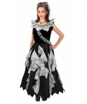 Miss halloween zombie jurk voor meisjes
