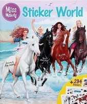 Miss melody sticker kleurboekje deluxe 10129630
