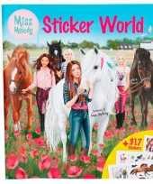 Miss melody sticker kleurboekje deluxe